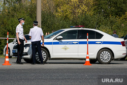 Поисковые работы на месте обнаружения тела Насти Муравьевой. Тюмень, полиция, дпс, полицейское оцепление