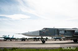 Летно-тактические учения многофункционального истребителя-бомбандировщика СУ-34 на аэродроме Шагол. Челябинск , истребитель, бомбардировщик, су-24, авиационный комплекс