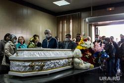 Прощание с Настей Муравьевой в Патрушевском ритуальном зале. Тюмень, похороны, траур, прощание