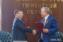 Якушев и Богданов. Подписание соглашения между ТО и