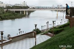 Виды Тюмени. Тюмень , набережная, мост, река, тюмень, река тура, виды тюмени