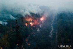 Горящий лес возле горы Волчиха. Свердловская область , лэп, лесной пожар, пожар в лесу, дым от пожара, пожар на волчихе