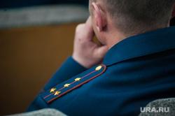 Новый начальник ГУФСИН по Свердловской области. Екатеринбург , погоны, капитан полиции
