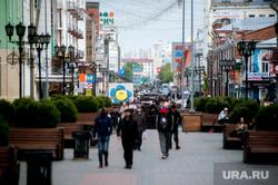 Пятничный вечер во время пандемии коронавируса. Екатеринбург, улица вайнера, виды екатеринбурга