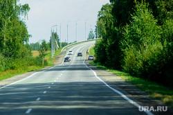 Дорога, трасса. М5. Челябинская область, трасса, автодорога, дорога, автотранспорт, автомобильная дорога, поворот дороги