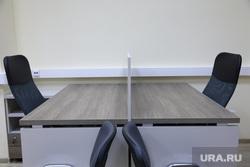 Новое помещение для работы гордумы. Екатеринбург., переговоры, пустые кресла, бизнес, стол переговоров