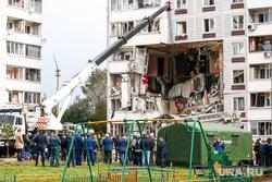 Последствия взрыва газа в доме 9А на улице 28 июня в  Ногинске. Москва, взрыв, взрыв газа, взрыв в жилом доме