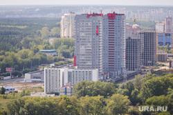 Виды Челябинска, город челябинск, микрорайон манхэттен