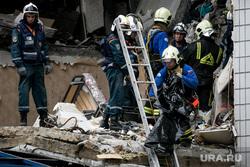 Последствия взрыва газа в доме 9А на улице 28 июня в  Ногинске. Москва, взрыв газа