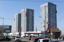Городские объекты. Челябинск, манхэттен, недвижимость, высотное здание