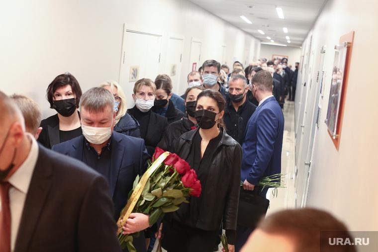 Прощание с Евгением Зиничевым. Москва
