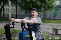 Город в период самоизоляции 27 мая 2020. Пермь, спорт, уличные тренажеры