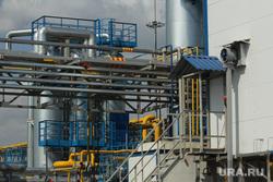 Завод комплекса сжиженного природного газа