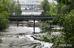 Виды Екатеринбурга, железнодорожный район, парк ургупс, река ольховка