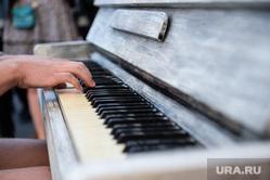 Раскрашенные пианино на Вайнера. Екатеринбург, фортепиано, пианино, музыка, клавиши
