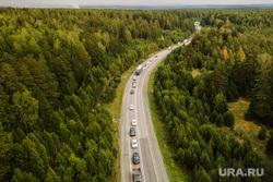 Горящий лес возле горы Волчиха. Свердловская область , пробка, автомобильная пробка, автомобильный затор, дублер пермского тракта