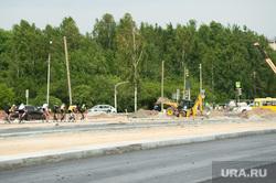 Выездное совещание общественного совета федерального партийного проекта «Безопасные дороги». Екатеринбург, строительство дороги, ремонт дороги, велосипедисты