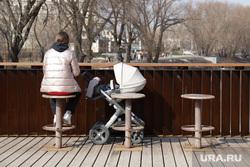Весенний репортаж с улиц. Екатеринбург, коляска детская, мама с коляской