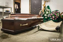 Клипарт. Магнитогорск, носилки, похоронные венки, гроб