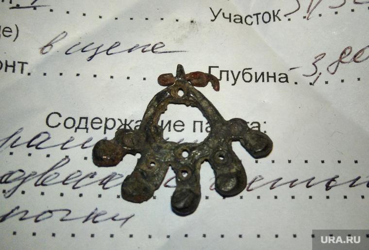 Археологические находки на месте строительства художественной галереи на заводе Шпагина. Пермь