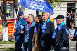 Первомайская демонстрация профсоюзов и