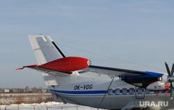 Чешский самолет на УЗГА. ЕКатеринбург, легкая авиация, l-410, аэропорт уктус