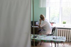 Визит врио губернатора Вадима Шумкова в Петуховский район. Курган, физиотерапия, кабинет врача, врач, физкабинет, медик
