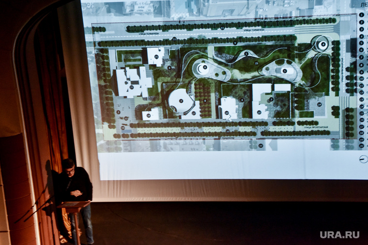 Представление проектов реконструкции Литквартала в Камерном театре. Екатеринбург