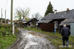 Мост через реку Сысерть. Свердловская область, поселок Луч, деревня, поселок луч, деревенская дорога
