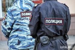 Акция «Свеча Памяти». Курган, полиция, наряд полиции