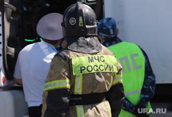 Обрушение надземного перехода на трассе Челябинск -Курган. Курган, дтп, полиция, авария, дпс, мчс  россии