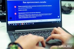 Онлайн-голосование. Москва, ноутбук, голосование, онлайн, дистанционное, электронное