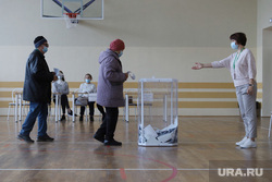 Выборы- 2021. Курган , выборы, бюллетени, избирательный участок, голосование, урна для голосования, урна голосования, бюллетень, выборы 2021