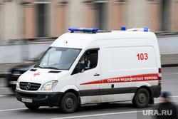 Виды Москвы, скорая помощь, машина скорой помощи