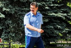 Новый прокурор Челябинской области Карен Габриелян прибыл к месту службы. Челябинск, зайцев сергей, текслер алексей, габриелян карен