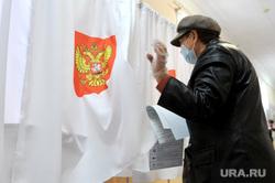 Выборы-2021. Челябинск, выборы, избирательный участок, голосование, голосование вне помещения, кабинка для голосования, выборы2021, санитарные меры
