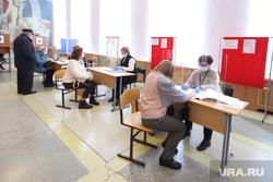 Выборы- 2021. Курган , наблюдатели, избирательный участок, голосование, выборы 2021