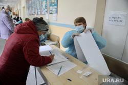 Выборы-2021. Челябинск, выборы, избирательный участок, голосование, голосование вне помещения, выборы2021, санитарные меры