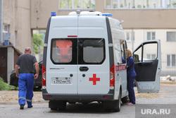 Эвакуация БСМП. Курган, скорая помощь, водитель скорой помощи