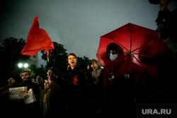 Митинг коммунистов КПРФ на Пушкинской площади. Москва, коммунисты, протестующие, кпрф, митинг, протест
