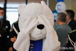 Конференция региональной партии Единая Россия. Курган. , медведь, медведь ер, единая россия, ер, едро
