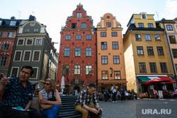 Виды Стокгольма. Швеция, европейский город, европа, старый город, туризм, стокгольм, район гамла стан, швеция, стурторьет, большая площадь