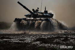 Всеармейский этап конкурса АрМИ-2021 «Танковый биатлон». Челябинская область, танковый биатлон, военные учения, танк т-72, всеармейский этап конкурса арми2021, арми2021