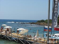 Турция, море, пирс, пляж