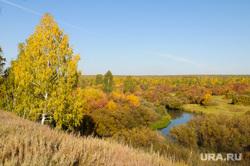 Золотая осень. Бабье лето. Челябинск., река, миасс, золотая осень