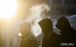 Виды Екатеринбурга, зима, холода, дыхание, площадь1905 года, город екатеринбург, проспект ленина, мороз, холод
