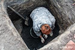Археологические раскопки в заречной части города. Тюмень, археологические раскопки, археология, раскопки