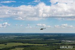 Репетиция воздушной части парада Победы. Екатеринбург, урал, лес, поля, авиация, военный вертолет, репетиция парада, природа, воздушный парад