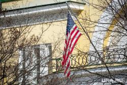 Флаг Евросоюза. Москва, американский флаг, флаг сша
