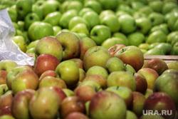 Торговый центр. Курган, фрукты, яблоки